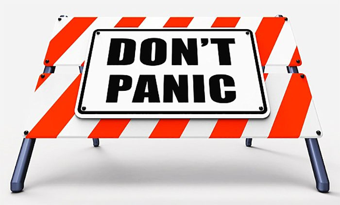 Image result for dont panic