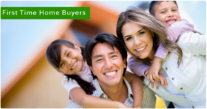 first time home buyer family