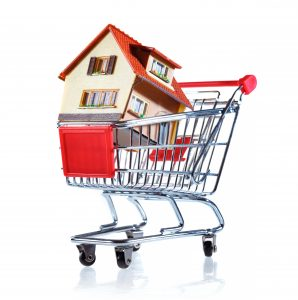a house in a shopping cart Canadian Mortgage Pros