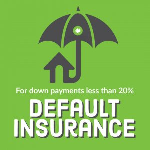 Umbrella covering house, default insurance for down payments less than 20%