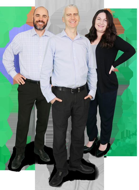 Canadian Mortgage Brokers Jason, Ken, and Merima